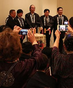 Ninohe City Fair in New York 2015  Opening Reception / Joboji urushi × Nanbu Bijin Seminar