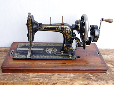 Treadle Sewing Machine by Wertheim